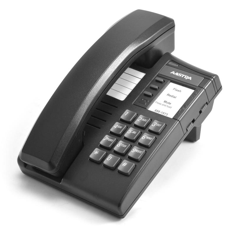 Nortel Aastra M8004 Charcoal Single Line Phone